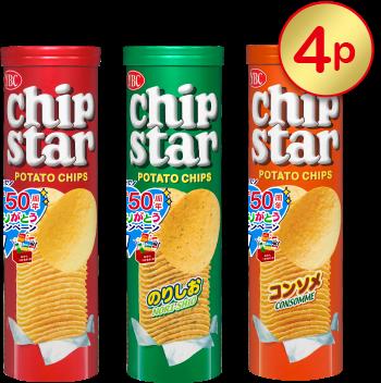 chip star L(うすしお味・のりしお・コンソメ)