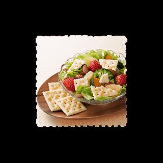 温野菜とフルーツのサラダ