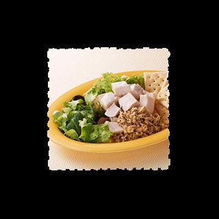 サラダチキンのツナソース