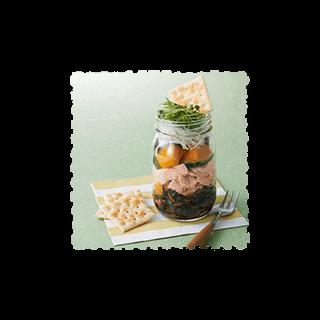和惣菜のジャーサラダ弁当