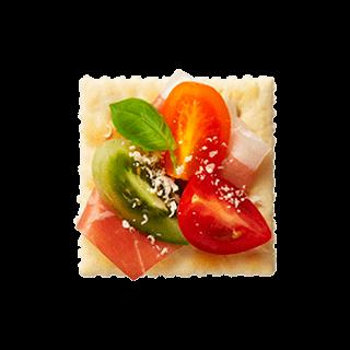 トマトづくしのカラフルルヴァン