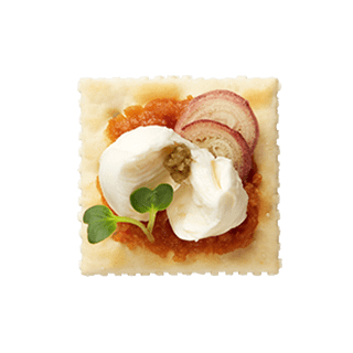 クセになる モッツァレラの味噌風味